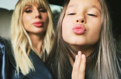 Светлана Лобода вместе со своей старшей дочерью посетила концерт Rammstein