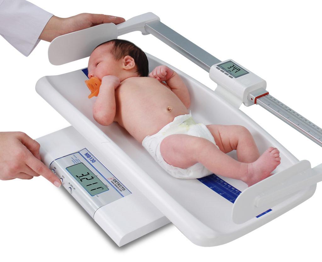 Норма веса ребенка при рождении