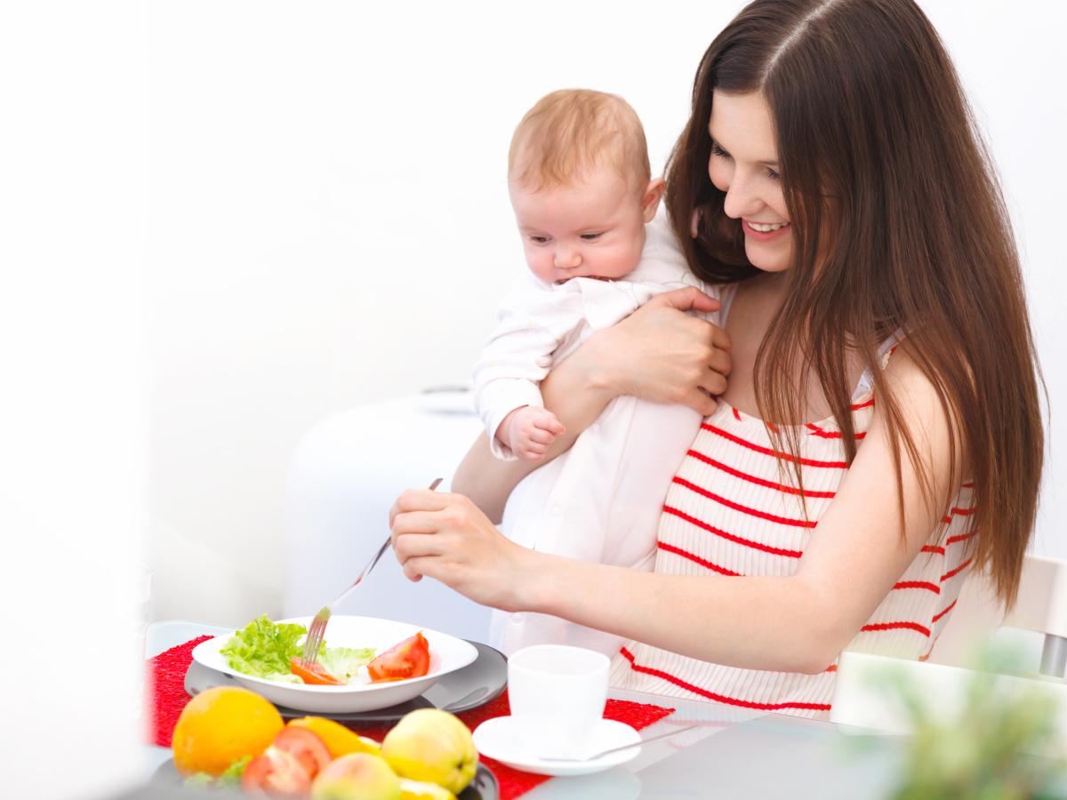 Что есть кормящей маме