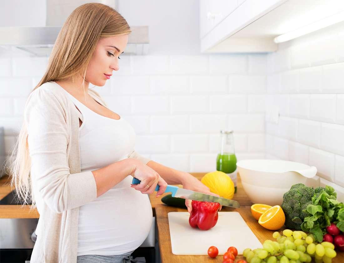 Что есть вегетарианкам при беременности