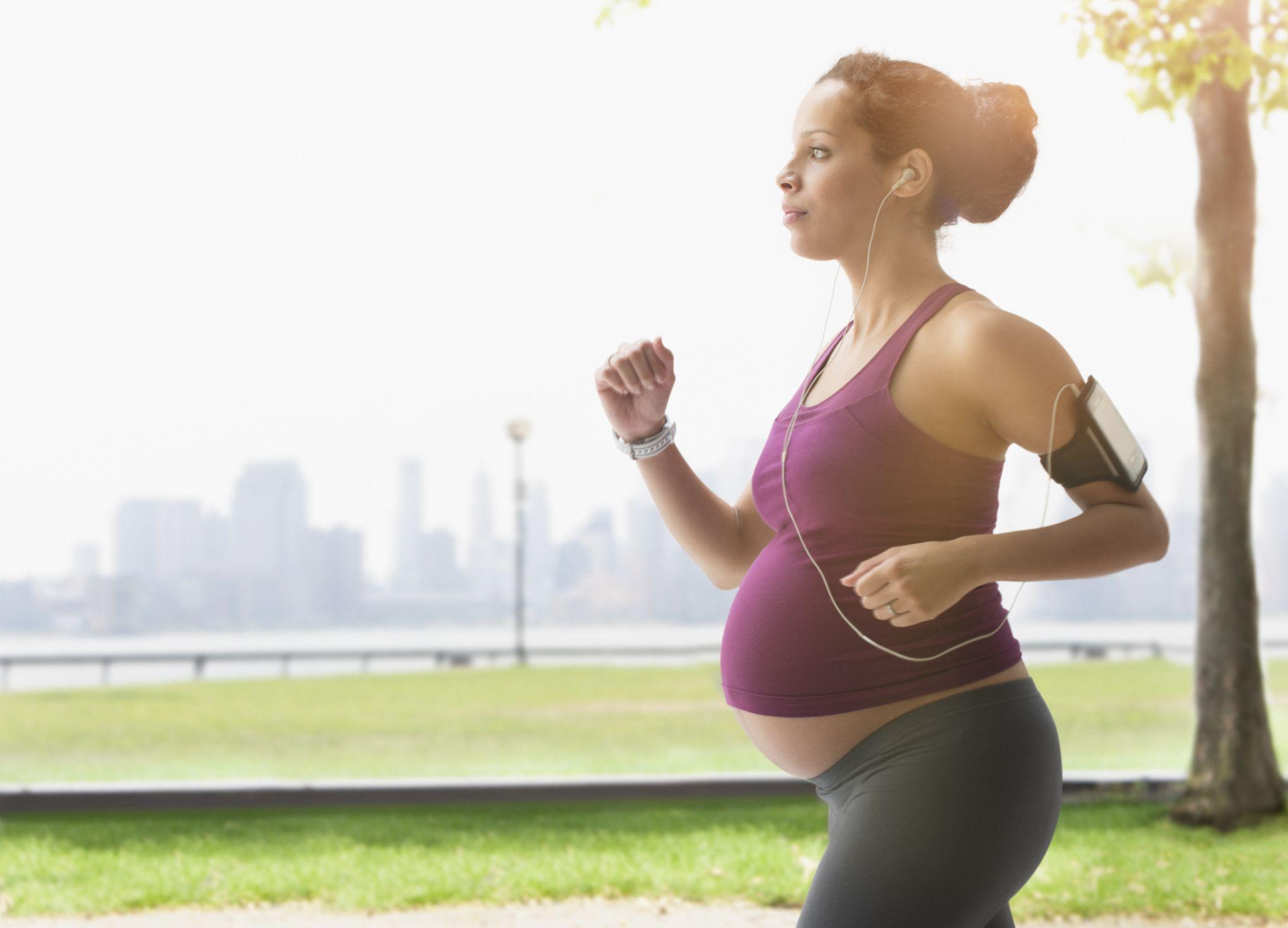 Бег для беременных